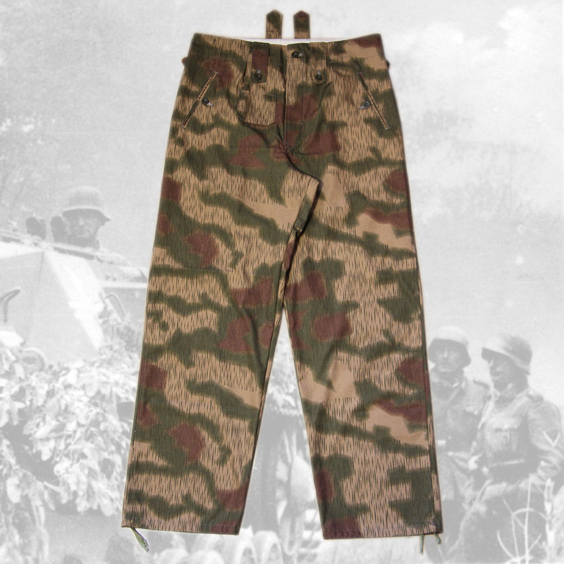 Camouflage trousers  Tan and Water